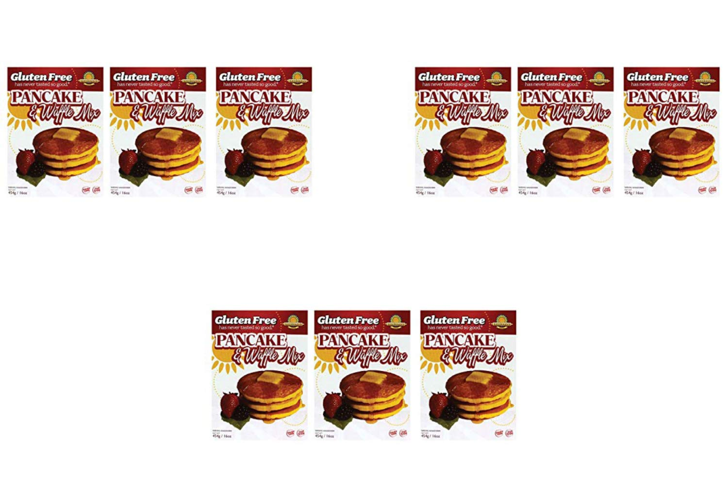 Amazon.com : Kinnikinnick | Gluten Free Pancake & Waffle Mix 16 Oz [3 Count] (2 Pack) : Grocery & Gourmet Food