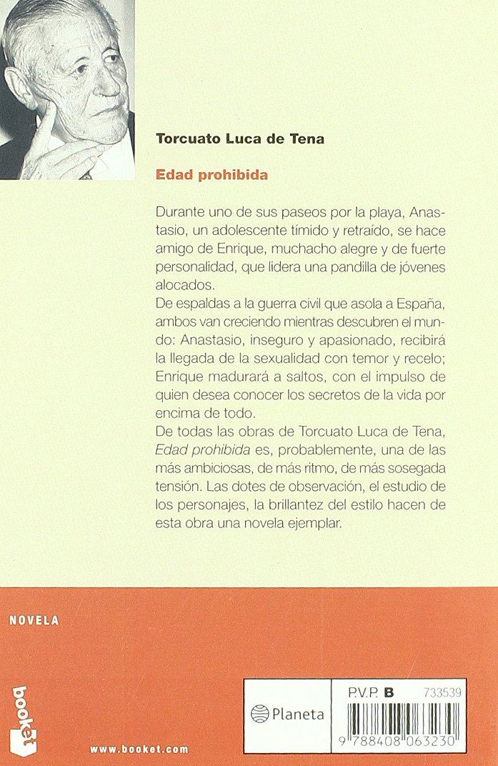 Edad prohibida (NF Novela): Amazon.es: Luca de Tena, Torcuato: Libros