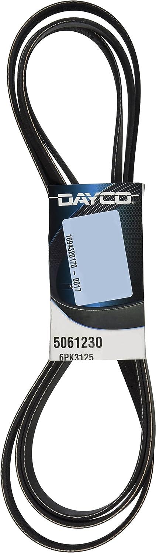 Dayco 5061230 Serpentine Belt Max Max 48% OFF 79% OFF