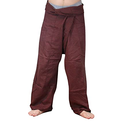 Amazon.com: Fisherman Pants Thai Pescador pantalones de ...