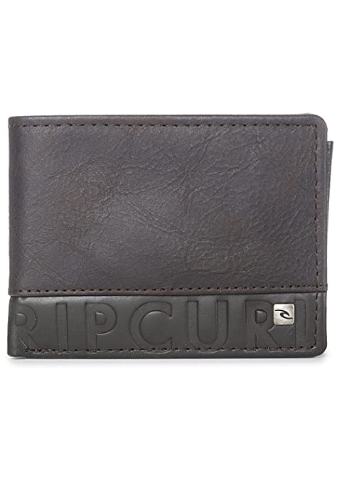 Rip Curl Cut N Sew RFID Slim Monederos, 12 cm, litros, Marrón