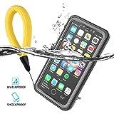 Coque iPhone X Etanche,CASEWIN 360°Protection Housse Etui Imperméable,Antipoussière,Anti-neige,Antichoc Avec un écran Protecteur Portant Couverture Coque pour iPhone X