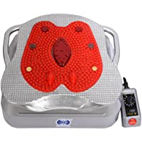 JSB HF12 Blood Circulation Machine Body Massager (Silver-Red)