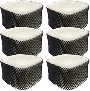Fre.Filtor 6-Pack Replacement Humidifier Filters Compatible with Holmes HWF62,HWF62CS,Filter A,and Sumbeam Cool Mist Humidifiers