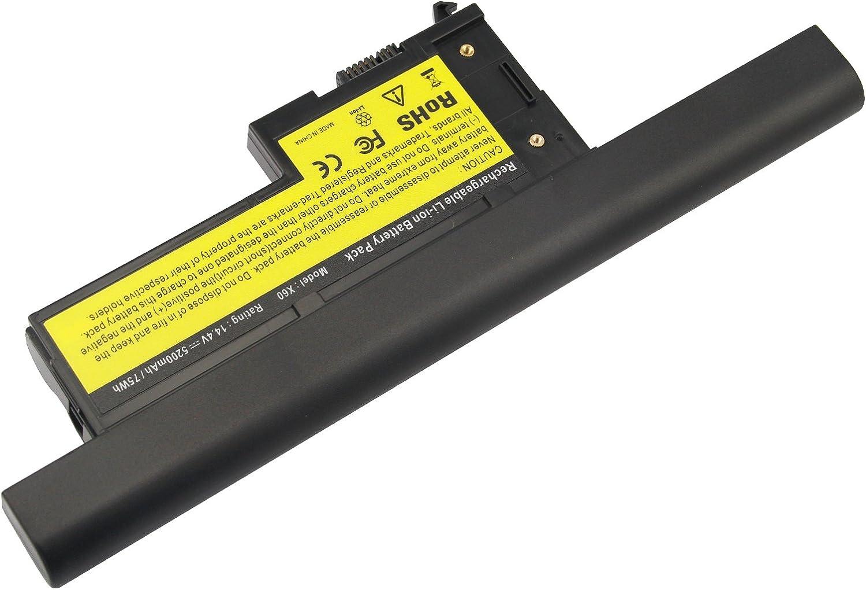 ARyee 5200mAh 14.8V X60 Battery Laptop Battery for Lenovo IBM ThinkPad X60 1702 2510 X60s 1709 X60 1703 2533 X60s 2507 X60 1704 X60s 1702 2508 X60 1705 X60s 1703 522 X60 1706 X60s 1704 2524 X60 1707