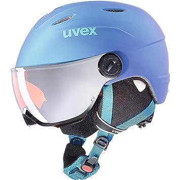Uvex Niños Vis. Pro – Casco de esquí, Invierno, Infantil, Color Blue