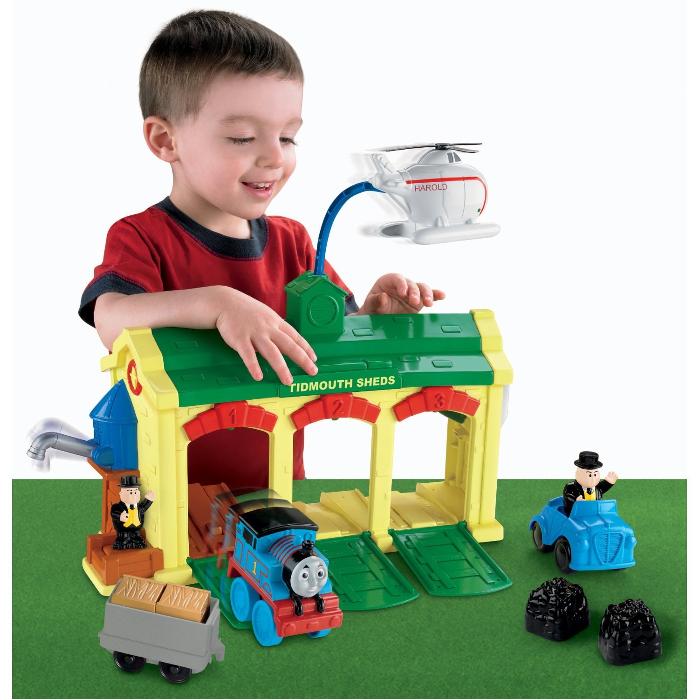 Fisher-Price Thomas & Friends Roundhouse Playset V4655 RO-X0G9-J7Z6