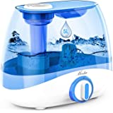 Mooka Humidifier for Bedrooms & Large Rooms, 5L (1.32Gal) Ultrasonic Cool Mist Humidifier for Babies, Lasts up to 50 Hours, Q