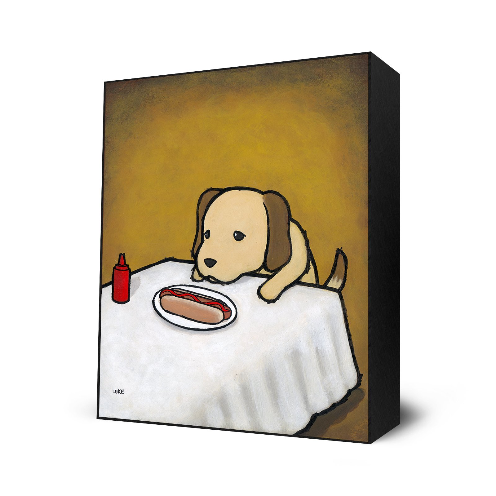 Revenge is A Dish (Dog) by Eyes On Walls