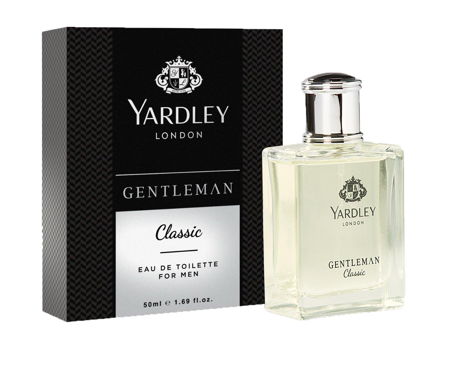 Yardley London - Gentleman Classic Eau de Toilette for Men, 50ml