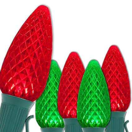 c9 opticore red green led commercial outdoor christmas lights heavy duty christmas string lights - Red And Green Led Christmas Lights
