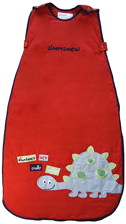Dream Bag Saco de dormir sueño asaurus rojo rosso Talla:6-18mths, 2.5
