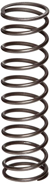 Pack of 10 17.6 lbs Load Capacity 3 Free Length Music Wire Extension Spring Inch 4.47 Extended Length Steel 0.36 OD 0.055 Wire Size 0.36 OD 0.055 Wire Size 3 Free Length 4.47 Extended Length E03600553000M 10.8 lbs//in Spring Rate