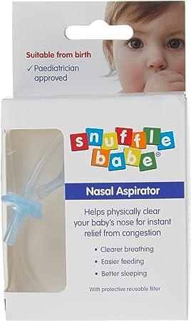Snufflebabe - Aspirador nasal en caja (15 ml): Amazon.es: Salud y ...