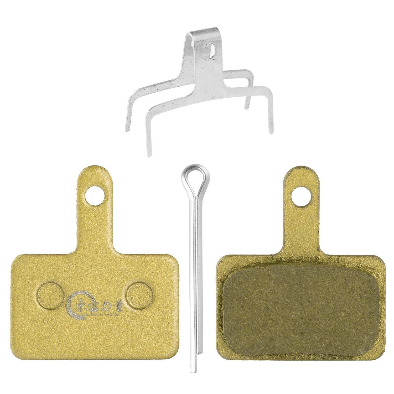EASTERN POWER マウンテンバイク ディスクブレーキパッド 2ペア シマノ B01s Deore SLX/LX M675 M315 M355 M365 M375 M395 M447 M505 M515 M525 M615 Tektro用 樹脂/セミメタリック/メタル MTB 自転車ディスクブレーキパッド  Copper base brake pad B07GDKKRHG