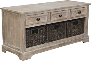 Ashley Furniture Signature Design Oslember Storage Bench