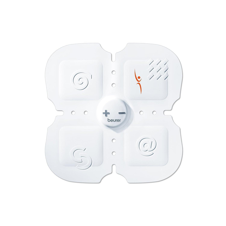color blanco Beurer EM20 Electroestimulador Masaje Sixpack 15 niveles de intensidad