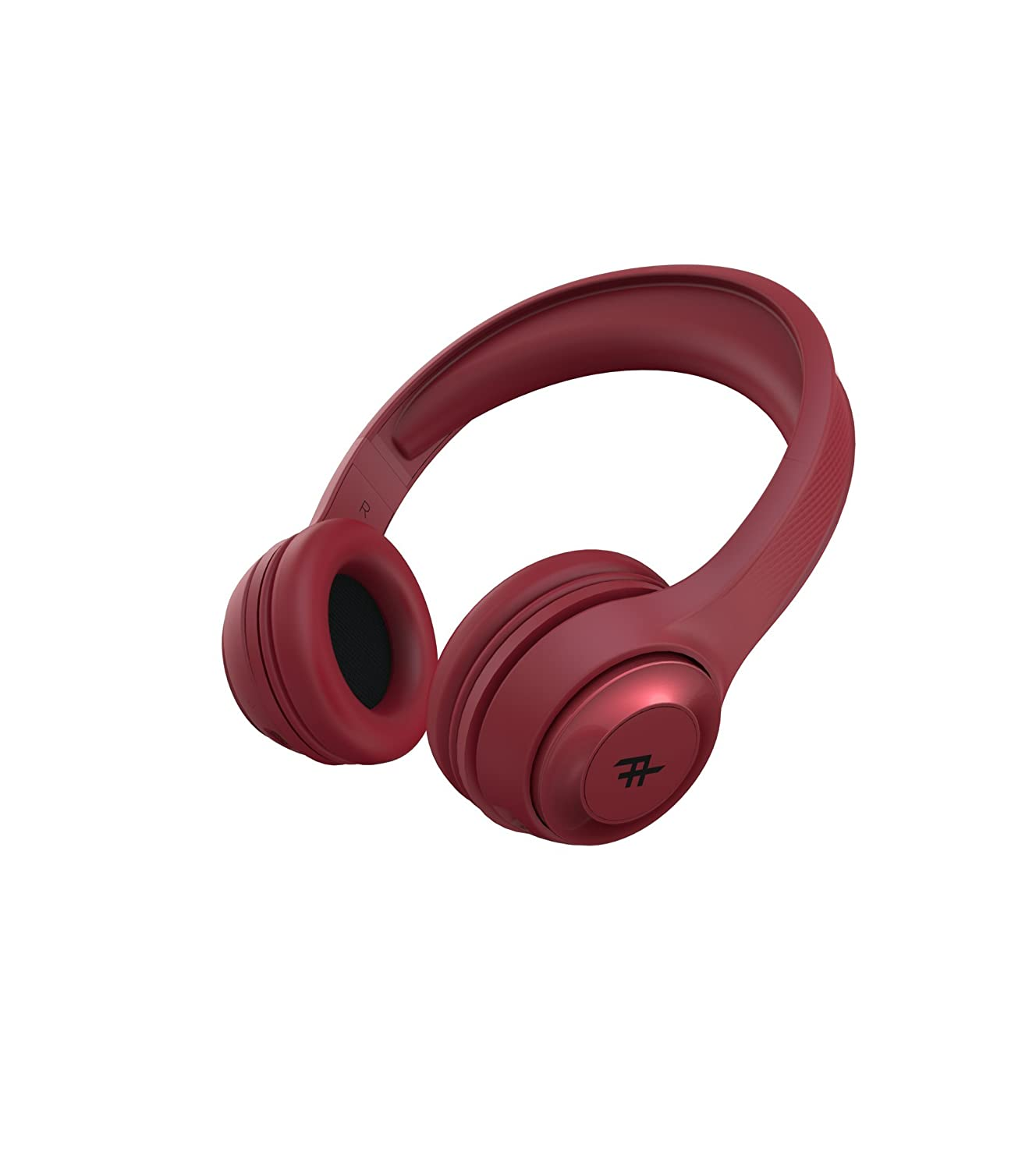 iFrogz Audio - Toxix Wireless Over-The-Ear Wireless Headphones - Red