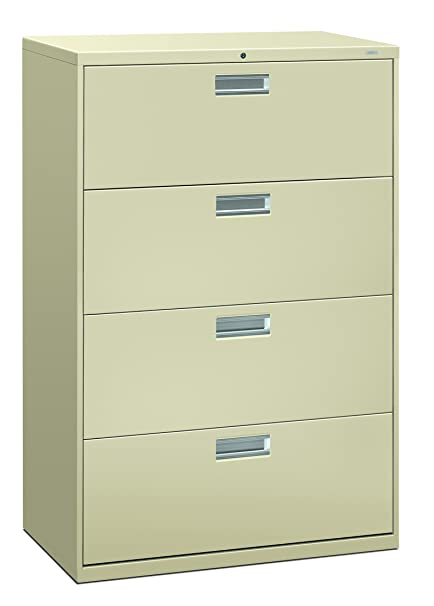 Amazoncom Hon 4 Drawer Office Filing Cabinet 600 Series Lateral