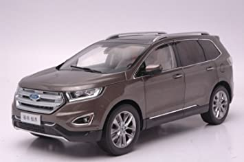Ford Edge  Suv Browncast Model Car Alloy Car Miniatures Collection Gifts