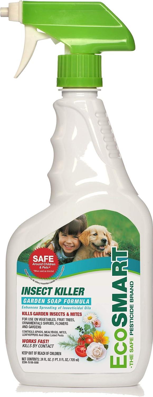 EcoSMART ECSM-33601-06 Botanical Insect Killer Non-Toxic Garden Soap Formula, 24 oz