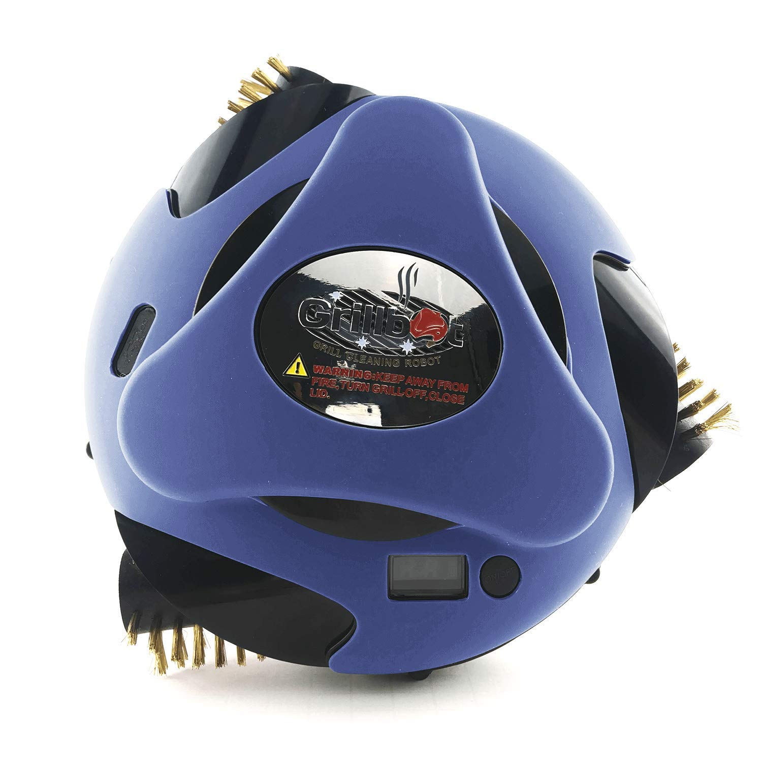 Provides Extra Protection Grillbot Automatic Grill Cleaning Robot Silicone Cover Blue Dishwasher Safe Weather /& Heat Resistant up to 250/°F BBQ Accessories Noise Reduction