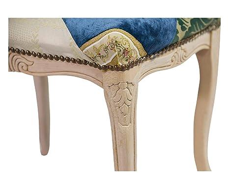 Esidra 913 opwa1 sgabello alto legno multicolore 48x38x42 cm