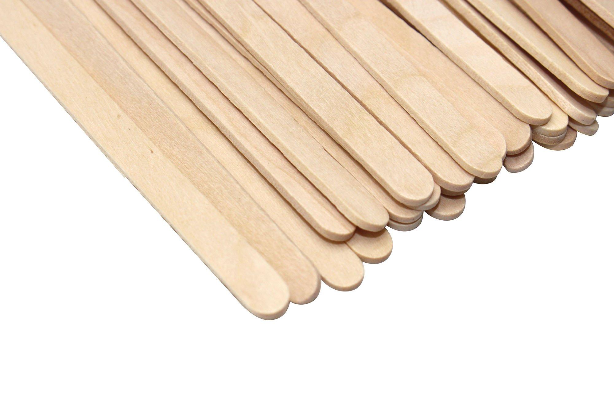Disposable Birch Wood Coffee Stir Sticks Stirrers Wooden Tea Stir Stick Stirrer,7.5 Inch (1000Pcs) by Jinliang (Image #2)