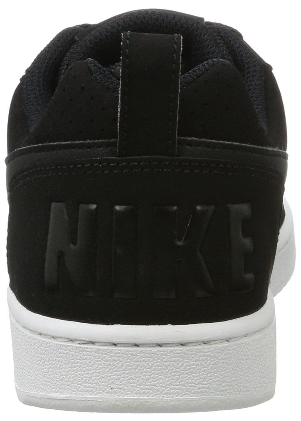 Nike Damen Wmns Court Borough (Noir/Blanc/Noir) Niedrig Basketballschuhe Schwarz (Noir/Blanc/Noir) Borough f57529