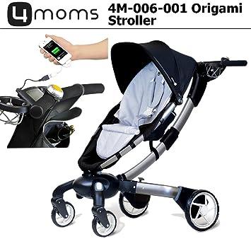 Amazon 4 Moms 4m 006 001 Origami Stroller In Silver Graco