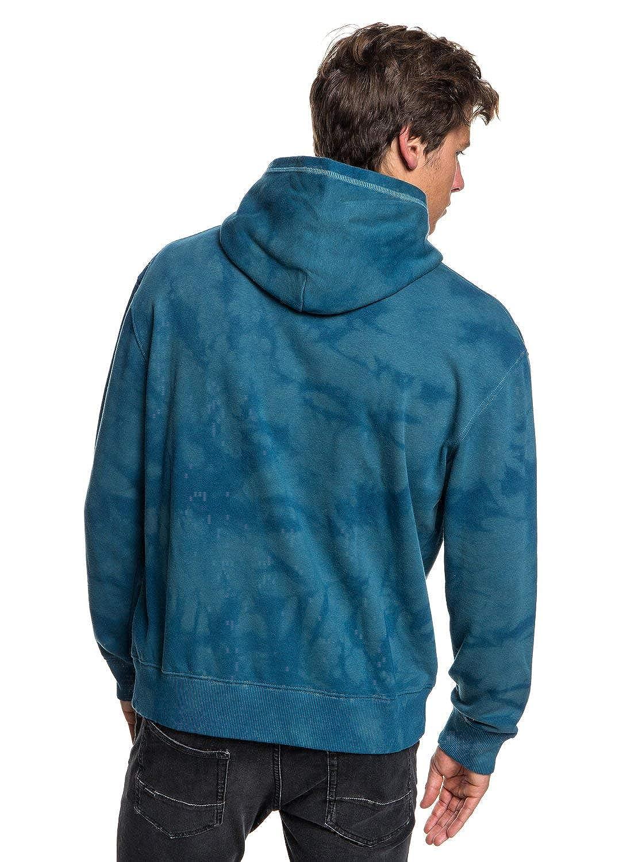 Quiksilver Mens Volcanic Ocean Fleece Hooded Jacket EQYFT03876