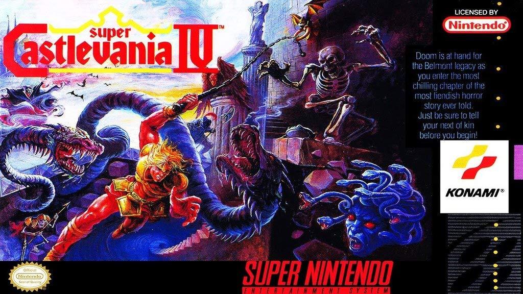 Amazon.com: Super Castlevania IV (Super Nintendo, SNES ...