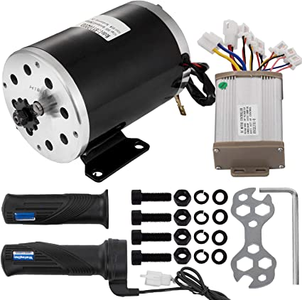 36V DC Electric Brushed speed Motor 800W and Controller Go Kart 3000 rpm 25H-11T