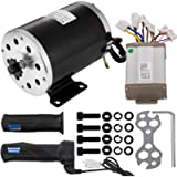 Mophorn Electric Brushed Motor 36V DC 800 Watt with Controller & Handles 11 Tooth 25 Chain Sprocket for Go Karts…