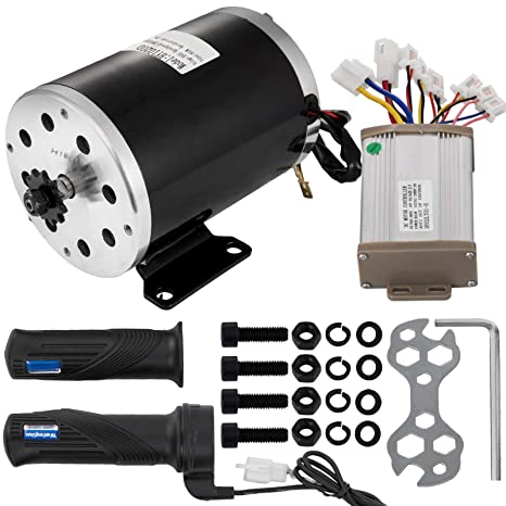 Amazon com : Mophorn Electric Brushed Motor 36V DC 800 Watt with