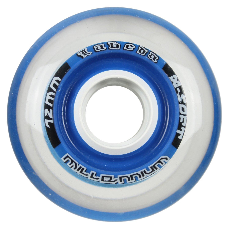 LabedaミレニアムGripperブルーHockeyホイール72 mm x-soft (シングルホイール)