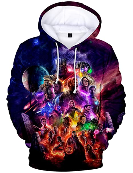 Clothing Hoodies The Avengers Boys One & Only One Hero Hoodie
