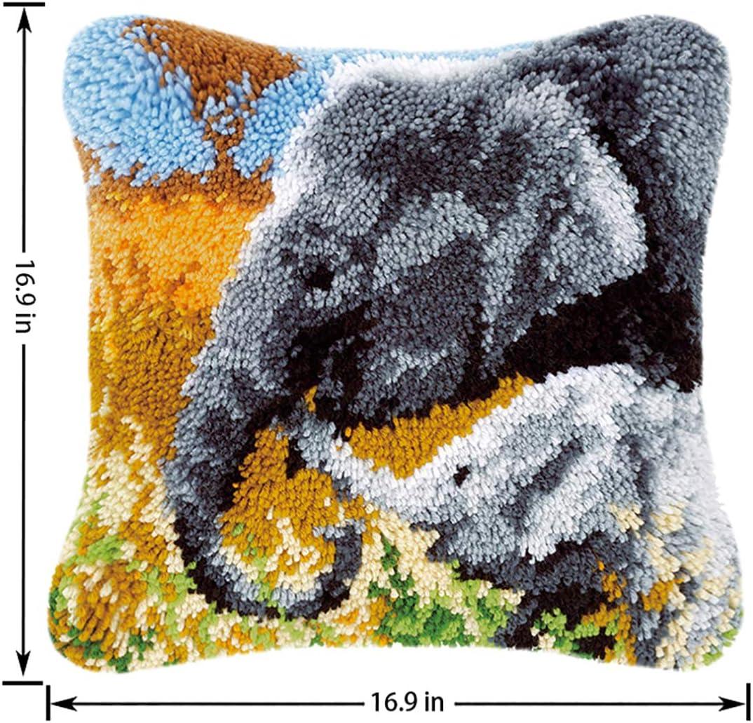Elephant Pillow Free Crochet Pattern   1036x1078