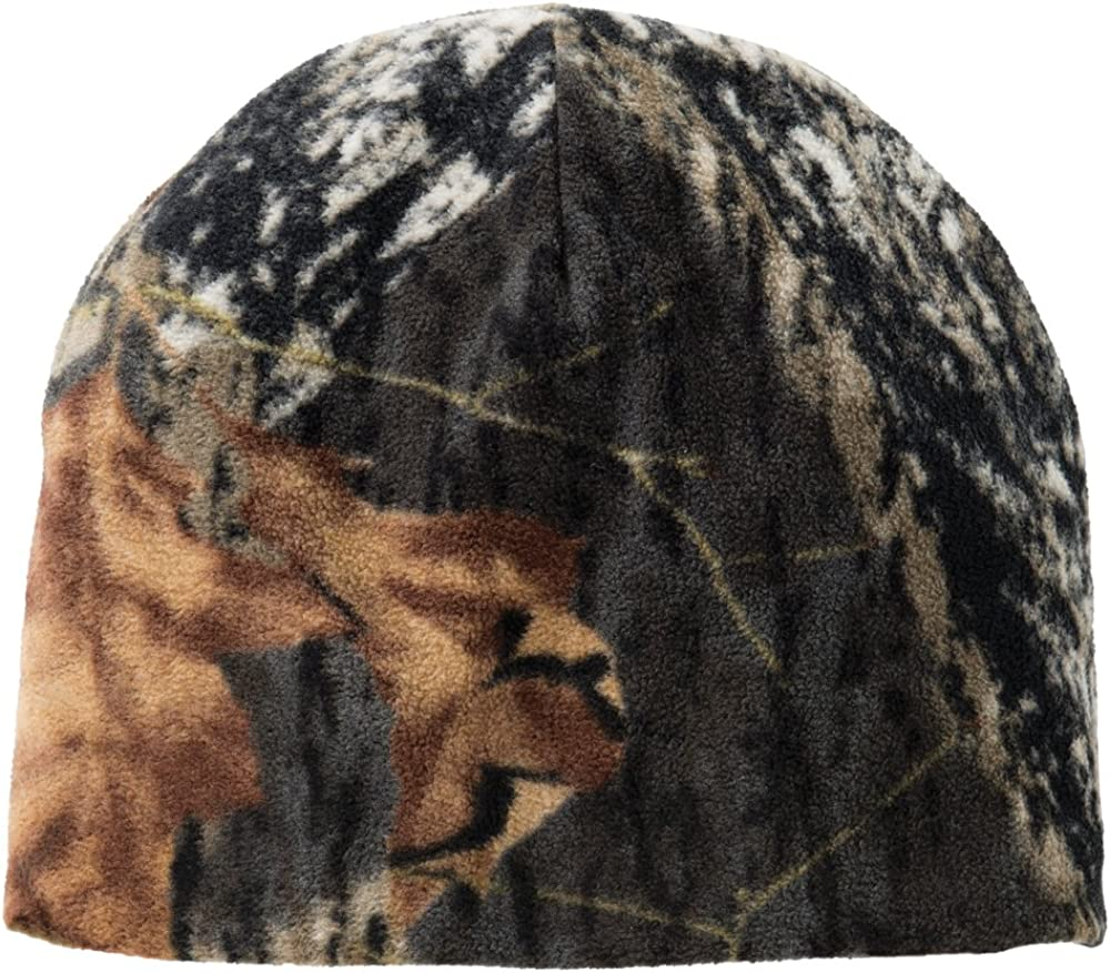Camouflage Oil Realtree Mossyoak Winter Fleece Style Beanie Hat