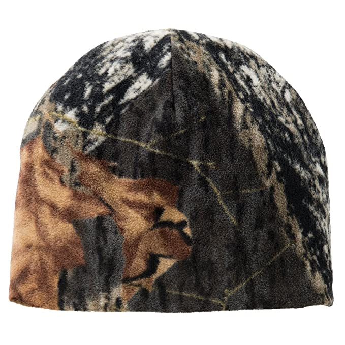 8100a041b09d9 Camouflage Oil Realtree Mossyoak Winter Fleece Style Beanie Hat - MOSSY OAK  BREAKUP