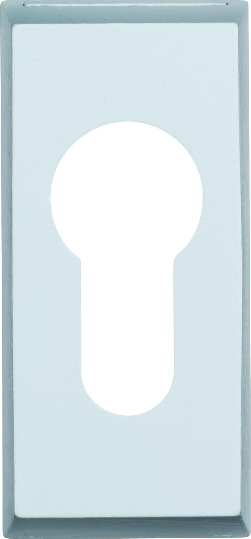 ABUS 237683 RS306 F1 SB Rosace de protection pour serrure de porte en m/étal Aluminium 6 mm