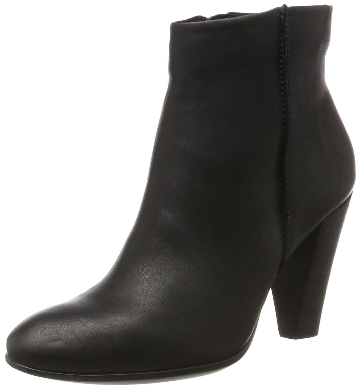 ECCO Women's Shape 75 Ankle Bootie B01MR9LFIF 37 EU / 6-6.5 US|Black