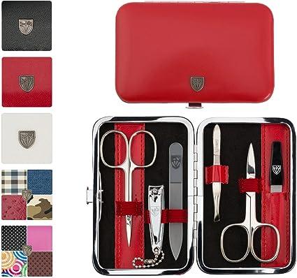 3 Swords | Kit/Set/Conjunto/estuche de manicure – Manicura – Pedicura – Beauty/Beaute – el cuidado de las uñas/personnels/pies/manos | 6 piezas | fabricado en Solingen – Alemania (htgfhjtg): Amazon.es: Belleza