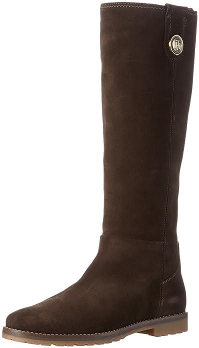 Tommy Hilfiger W1285ENDY 12B, Botines para Mujer, Marrón (Coffeebean 212), 36 EU: Amazon.es: Zapatos y complementos