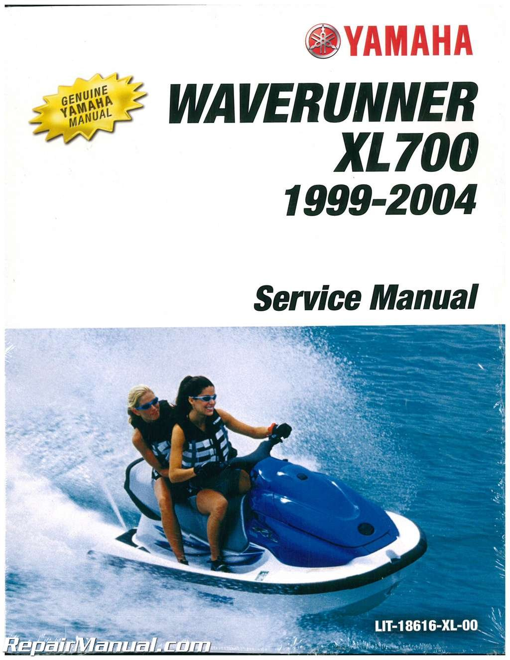 LIT-18616-XL-00 1999-2004 Yamaha XL700 XL760 Waverunner Service Manual:  Manufacturer: Amazon.com: Books