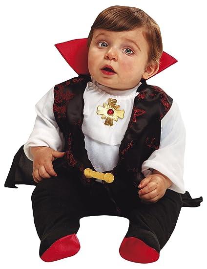 My Other Me Me-203269 Disfraz de bebé Drácula para niño, 0-6 meses (Viving Costumes 203269