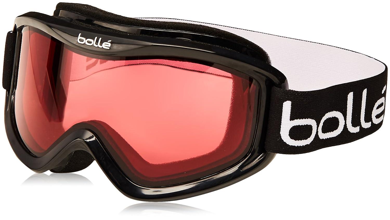 $21.83 Bolle Mojo Snow Goggles (Shiny Black, Vermillon)