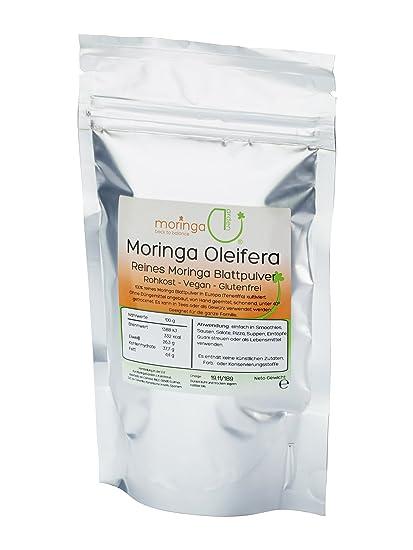 Moringa Garden Tenerife - Moringa Oleifera hojas polvo 1 kg