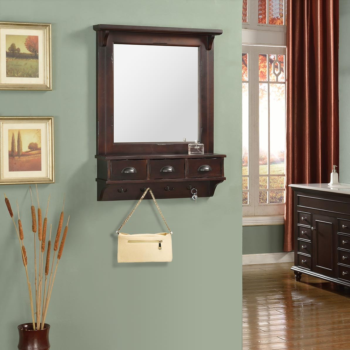 Proman Products Bombay Wall Mirror