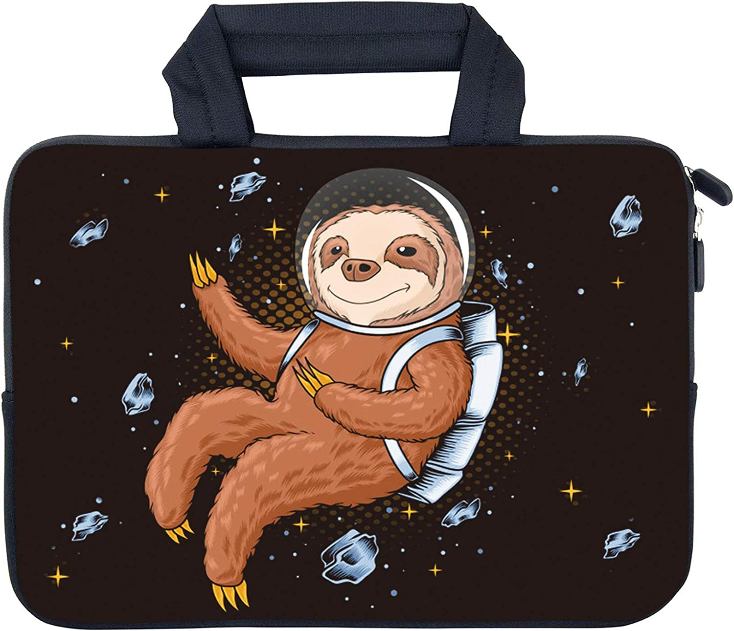 "AMARY 11.6"" 12"" 12.1"" 12.5 inch Laptop Handle Bag Neoprene Notebook Carrying Pouch Chromebook Sleeve Ultrabook Case Tablet Cover Fit Apple MacBook Air HP DELL Lenovo Asus Samsung (Sloth)"